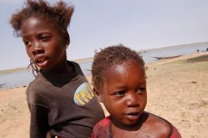 Barn i Mali.
