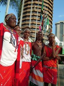 Masaier i Nairobi.