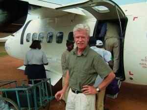 Landat i Gulu, Uganda.