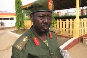 SPLA:s talesman Philip Aguer