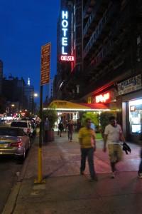 Hotel Chelsea i New York.