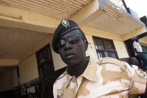 Ordningsmakten i Sydsudan